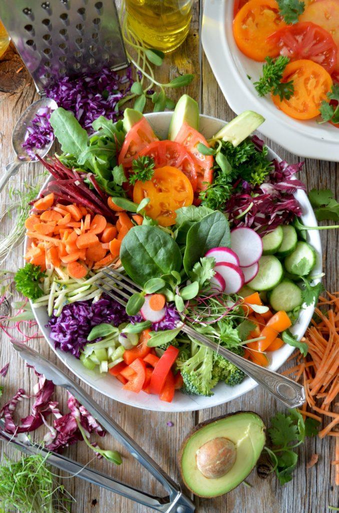Alimentación vegetal para el cuidado de la tierra