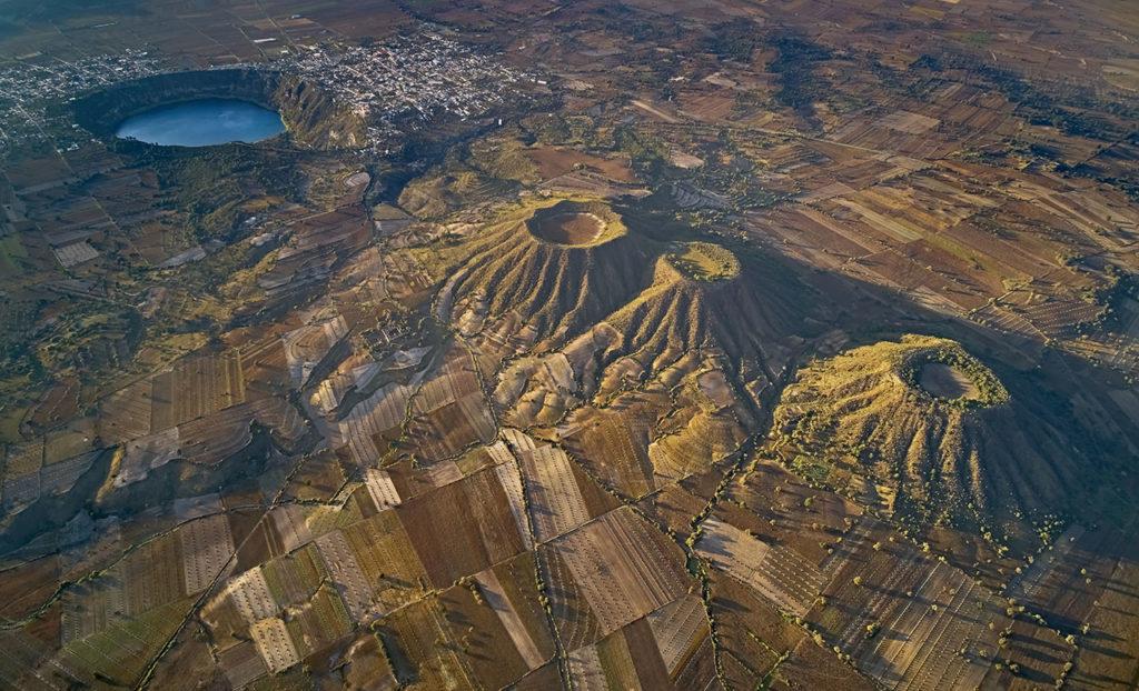Iván Macías Volcanes Aljojuca Dron Puebla