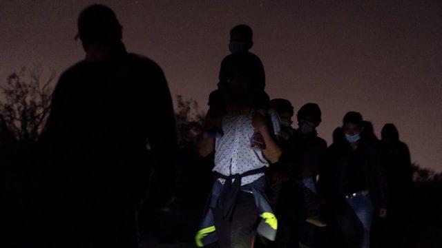 Migrantes frontera México Estados Unidos 5