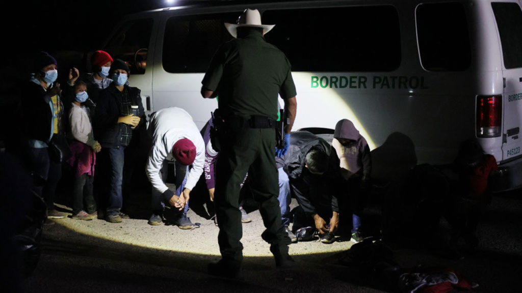 Migrantes frontera México Estado Unidos 8