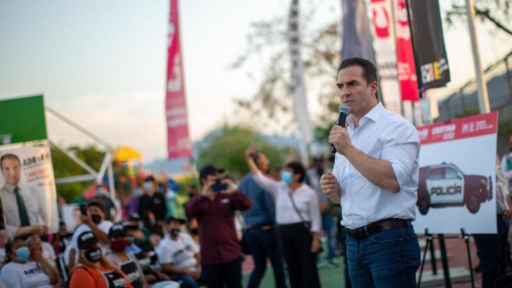 La riqueza de Nuevo León atrae al crimen organizado: Adrián de la Garza