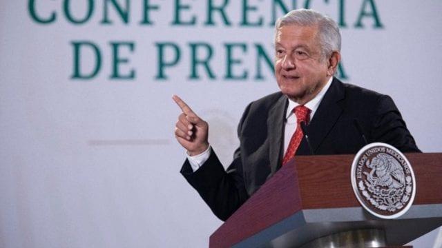 El presidente Andrés Manuel López Obrador en su conferencia de prensa 'mañanera'