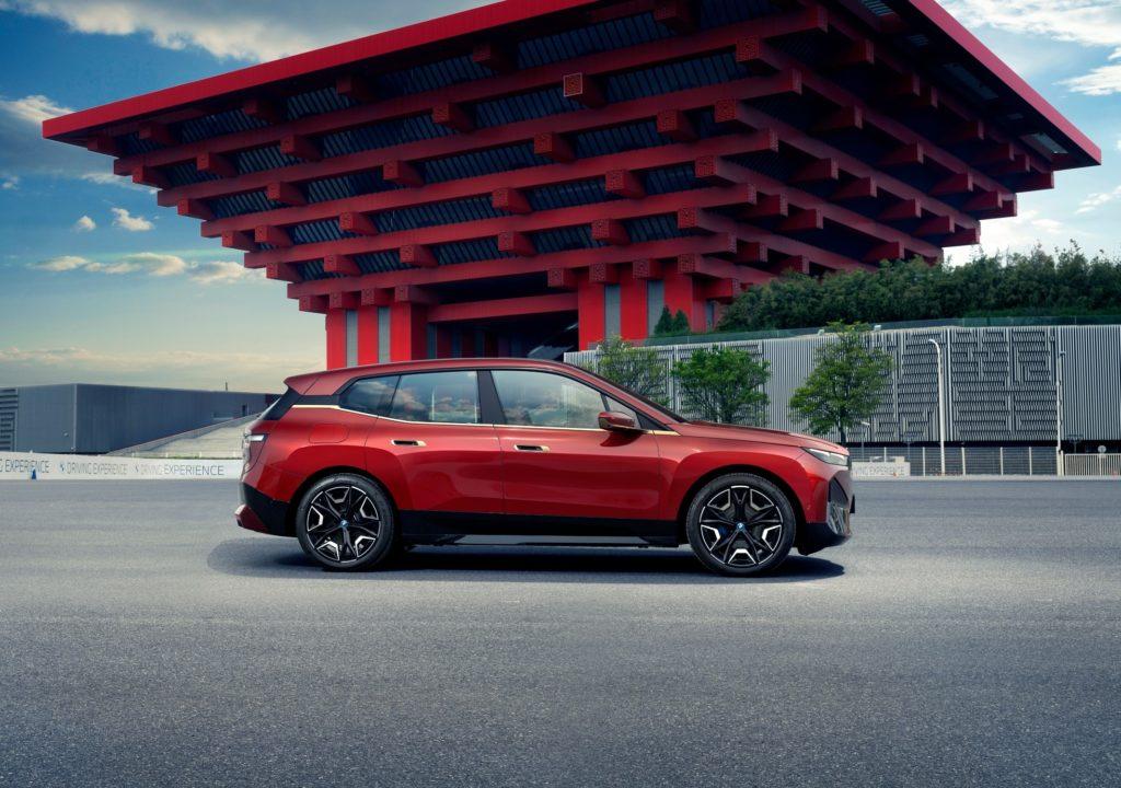 auto eléctrico BMW iX