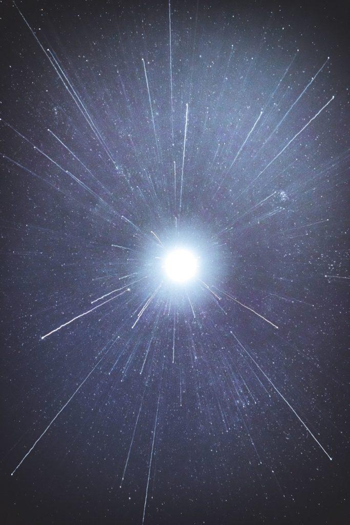 ondas de luz dispersión