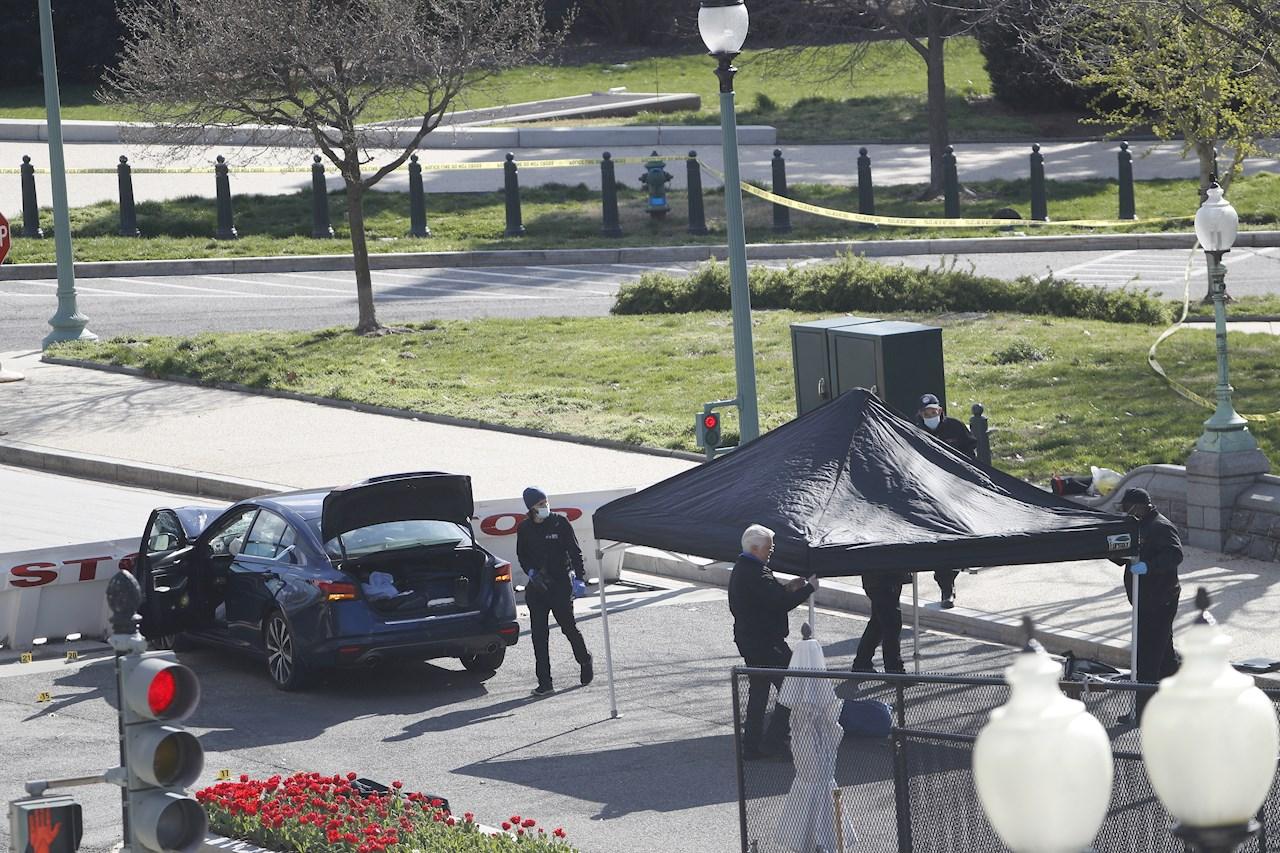 Un policía muerto y otro herido tras nuevo ataque en el Capitolio