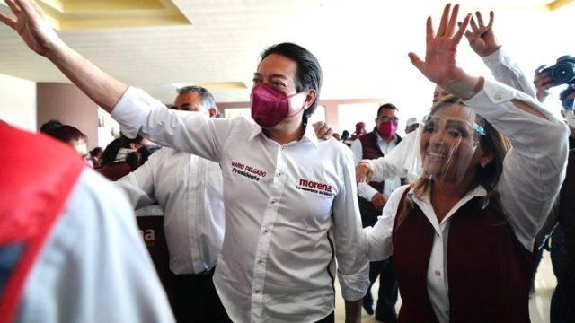 Mario Delgado, presidente nacional de Morena. Foto. Morena