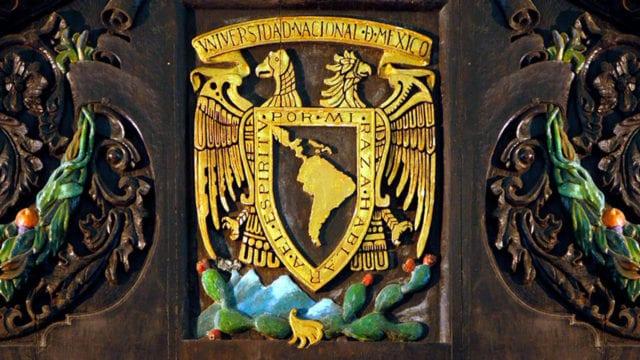 Escudo y lema de la UNAM cumplen 100 años