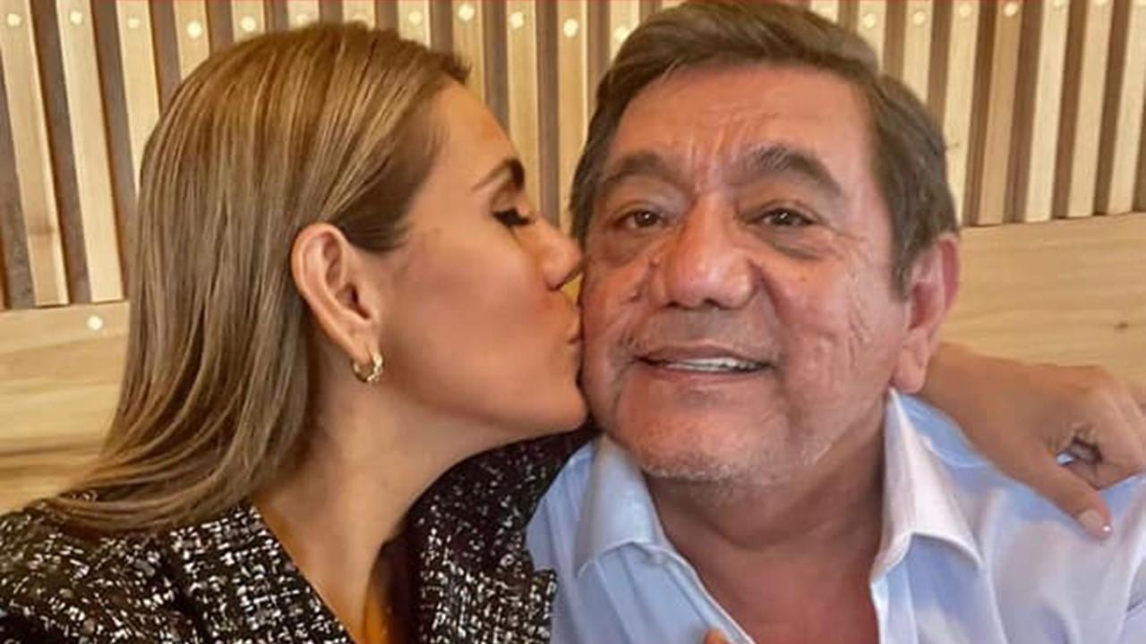 Salgado Macedonio comienza promoción de su hija Evelyn