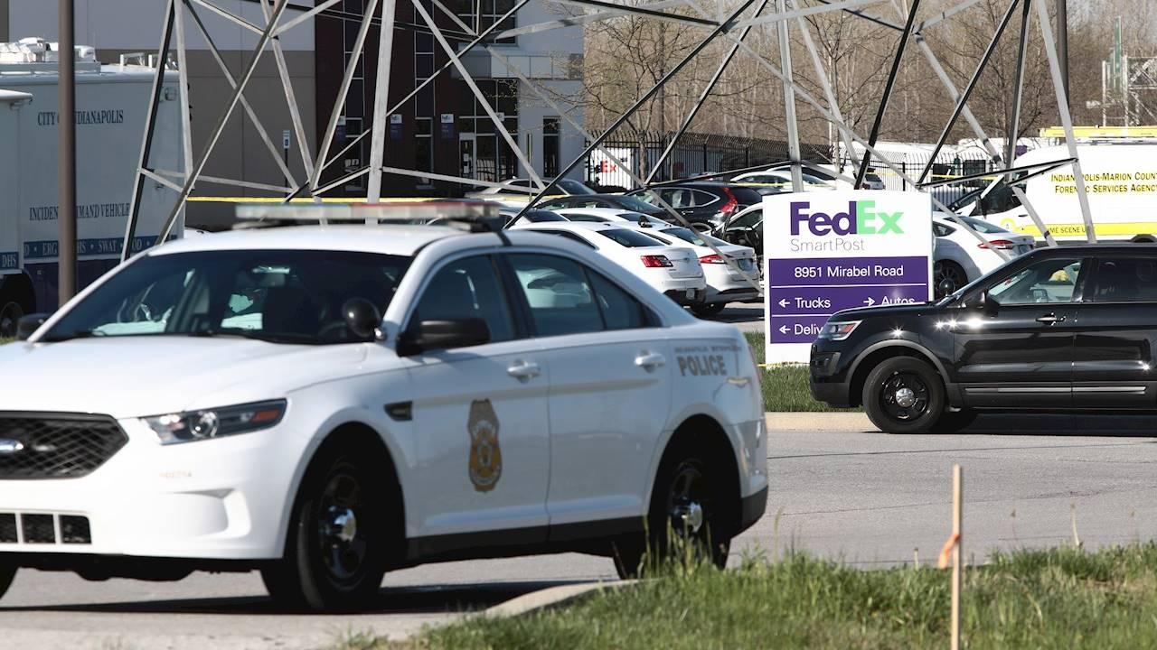 Tiroteo en instalaciones de FedEx en Indianápolis deja al menos 8 muertos