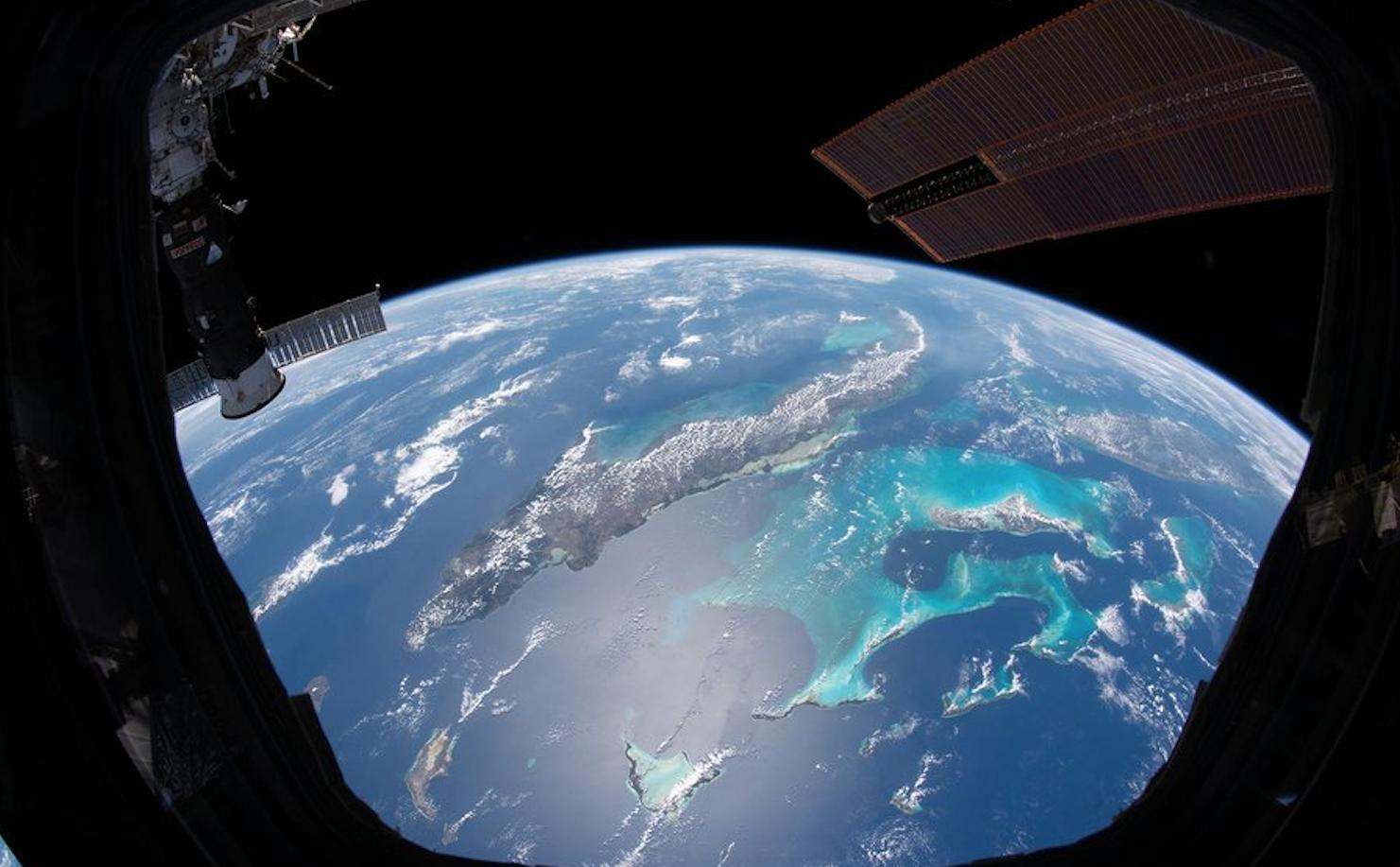 La Tierra desde los ojos de  astronautas de la Nasa