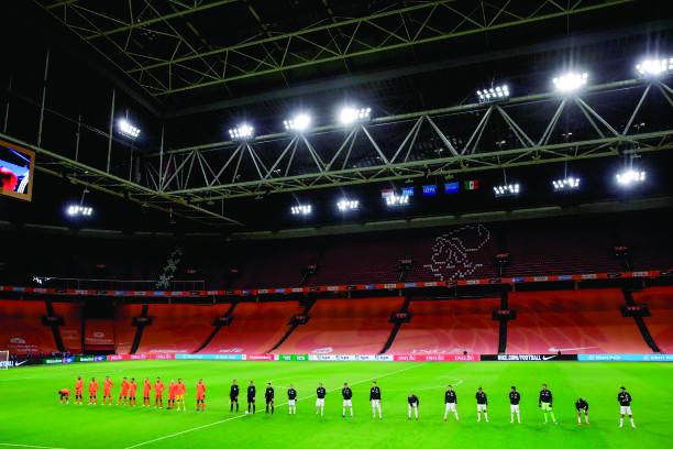 Partido futbol Holanda vs México