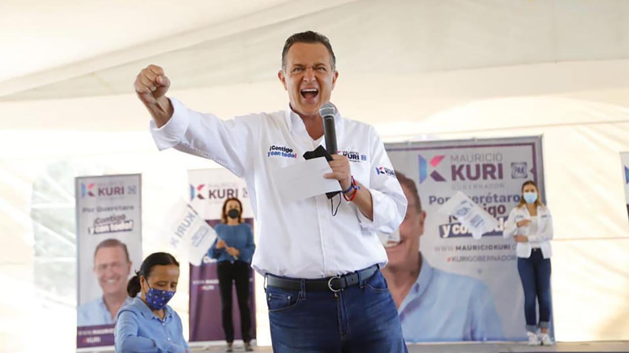 Fue un 'sustote' el evento vascular: Mauricio Kuri, candidato a Querétaro