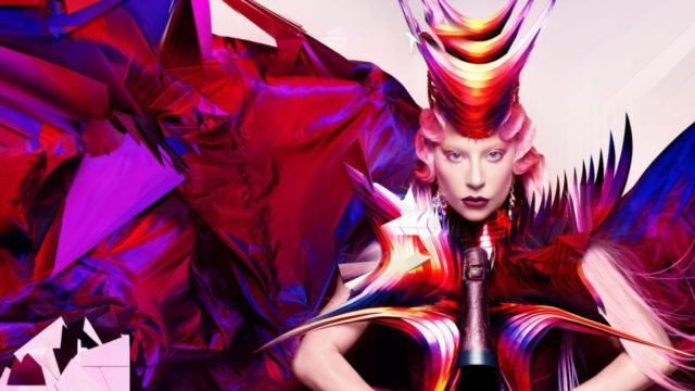 Lady Gaga Dom Pérignon