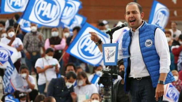 AMLO puede caer en tentación de ampliar su mandato: Marko Cortés