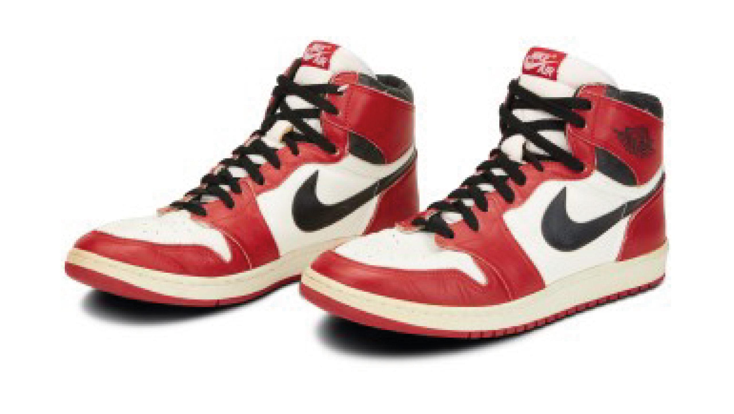 Tenis de Michael Jordan superarán 100,000 dólares en subasta, estiman