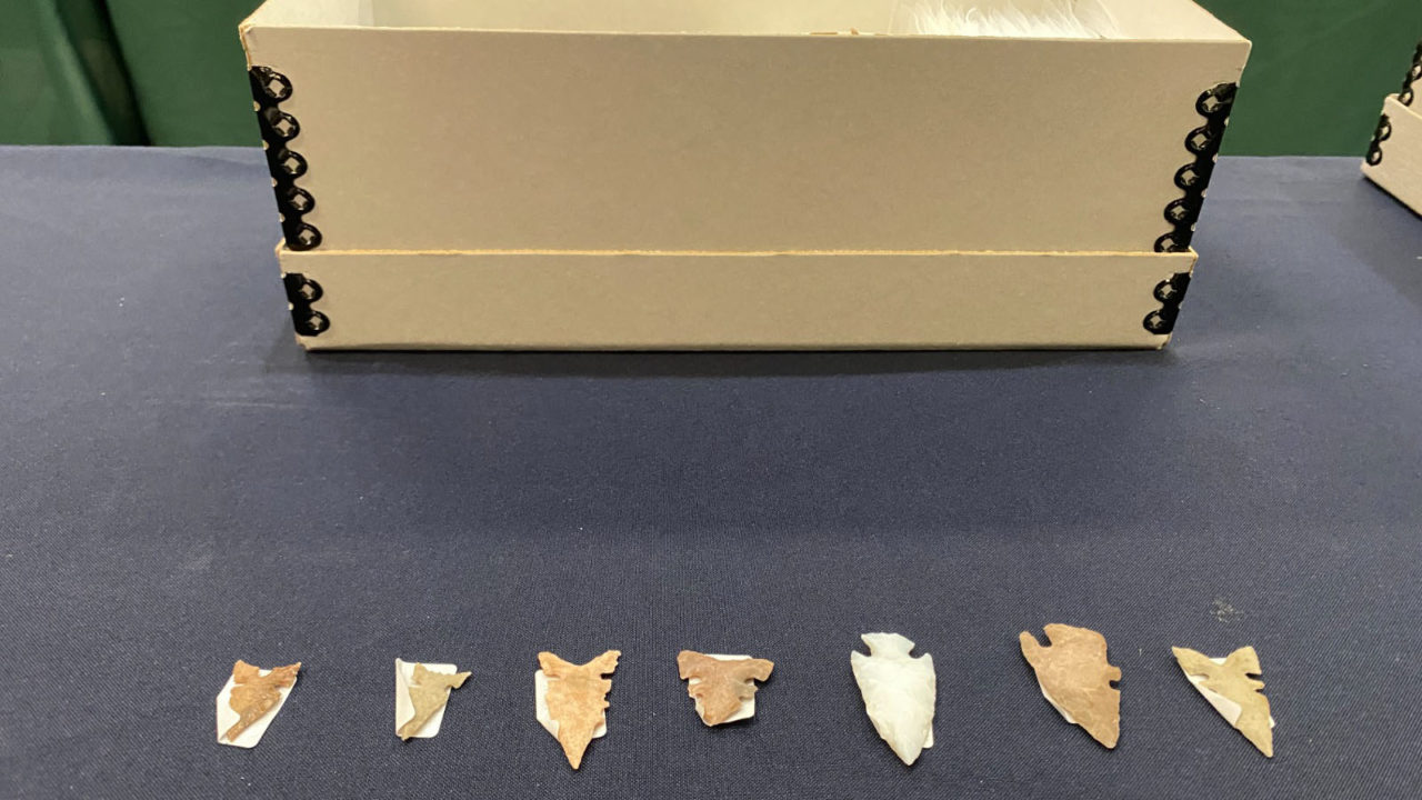 Estados Unidos regresa a México 523 piezas arqueológicas