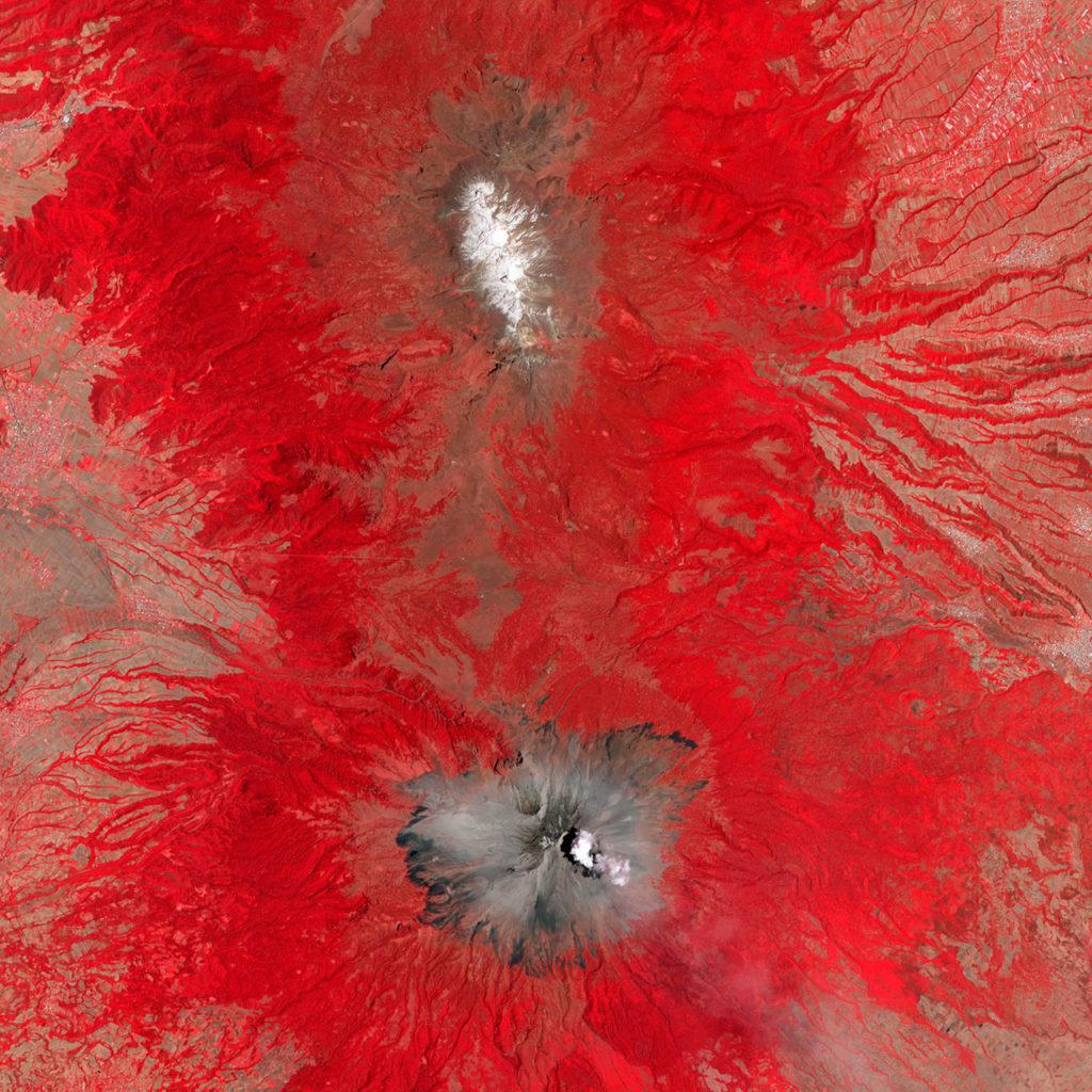 volcanes popo e iztaccihuatl