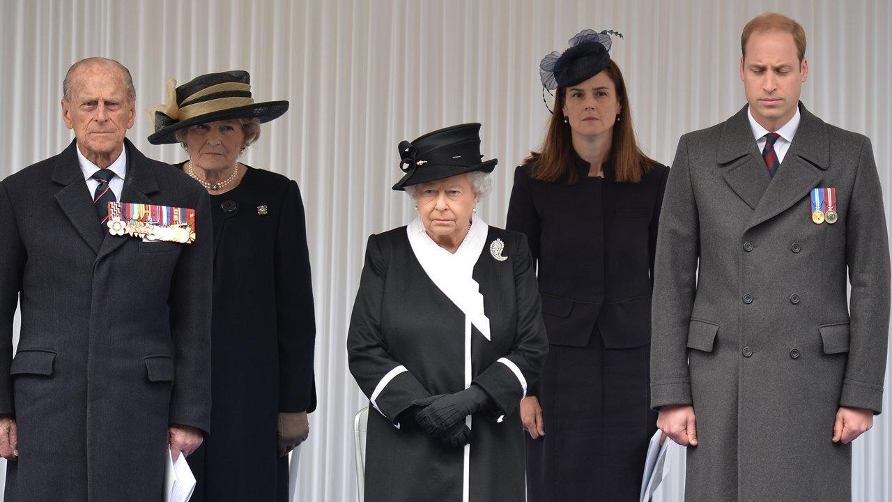 Príncipe William: 'extrañaré a mi abuelo'; Harry regresa a Reino Unido