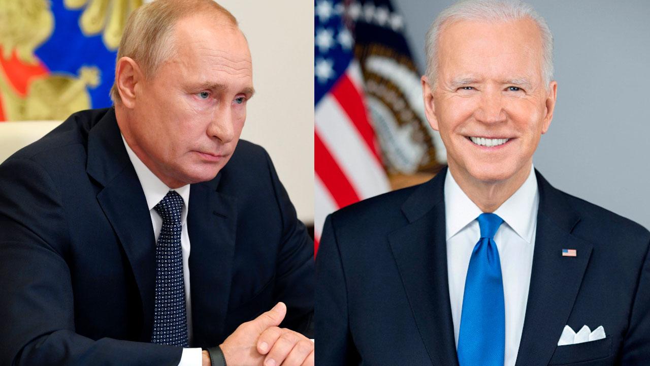 Biden revela que tuvo llamada 'respetuosa y sincera' con Putin