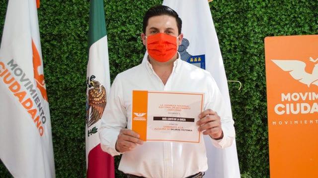 Candidato a Salinas Victoria tenía armas de cacería: Movimiento Ciudadano