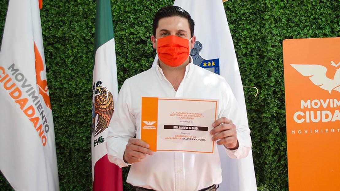 MC aclara que candidato a Salinas Victoria detenido sólo tenía armas de cacería