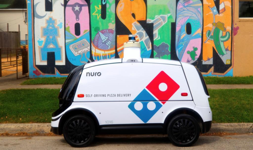 robot pizzas