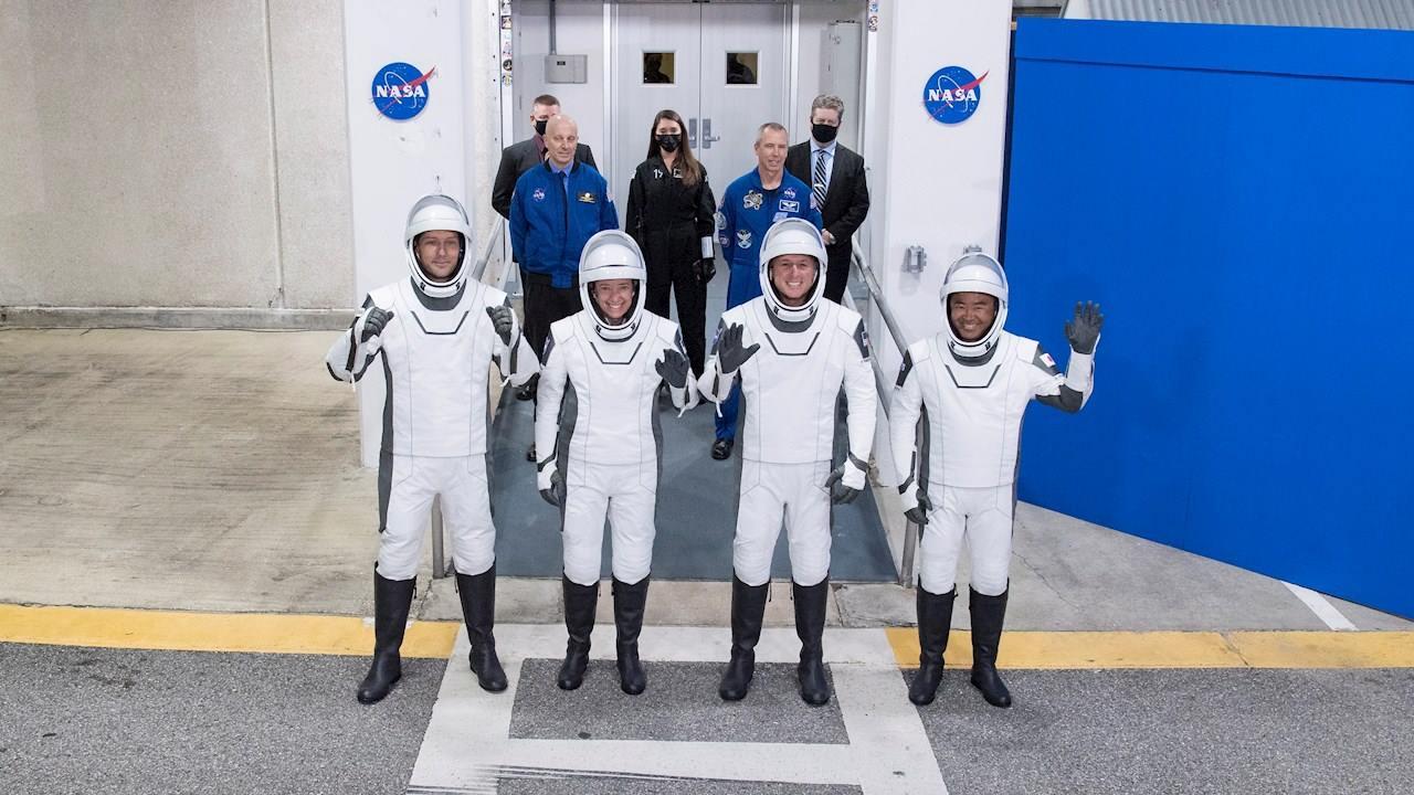 Despega la segunda misión de la NASA y SpaceX a la estación espacial