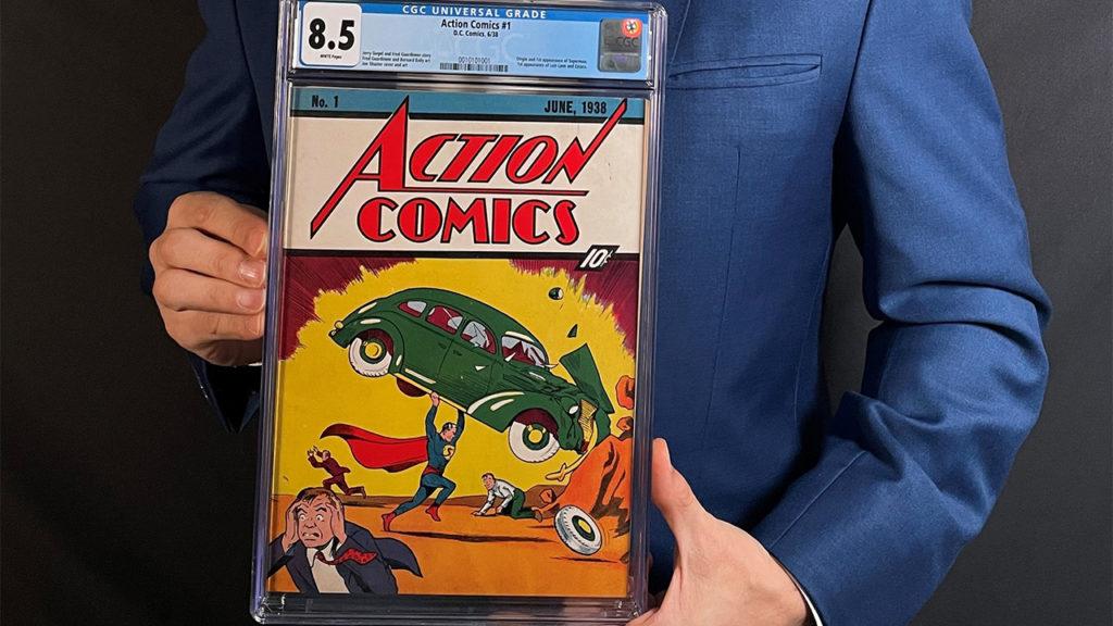 Nueva hazaña de Superman: su primer cómic fue vendido por 3.25 mdd