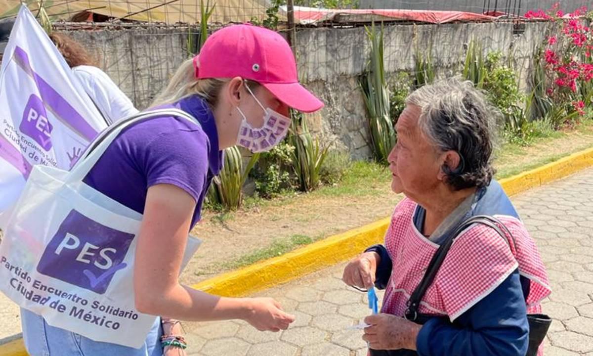 Ya toca que en Cuajimalpa gobierne una mujer: Susi Cueto, aspirante del PES