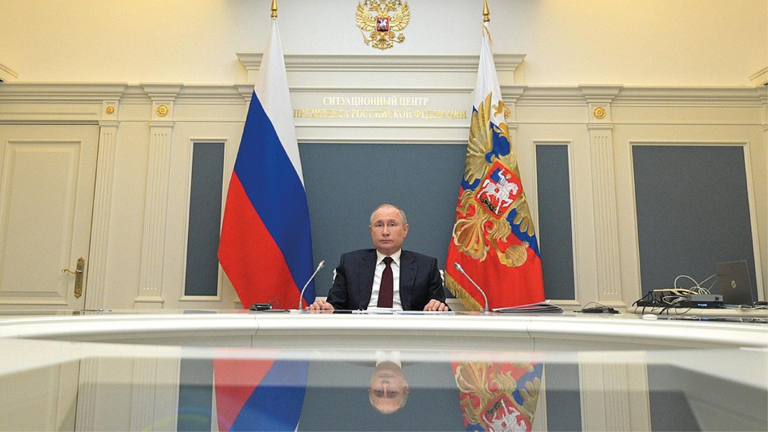 Putin propone cooperación internacional para monitorear emisiones