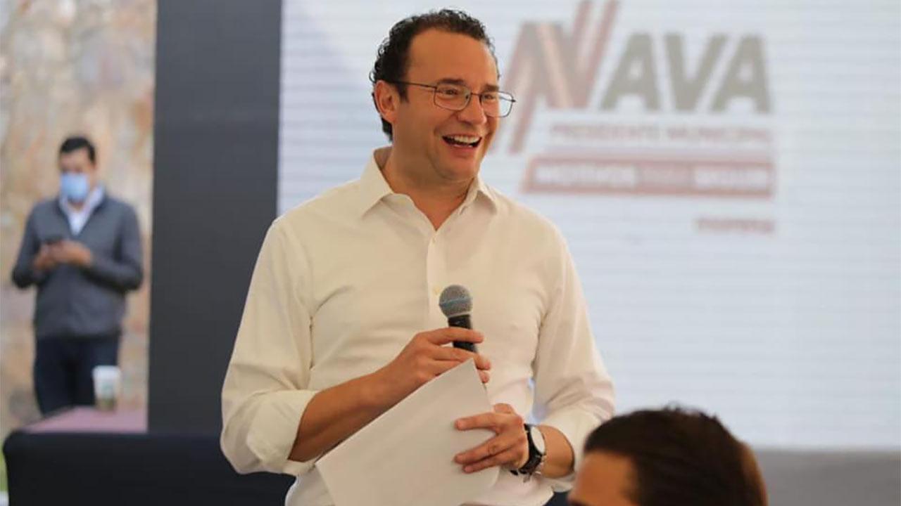 Xavier Nava culpa al PAN, PRI y PVEM del retiro de su candidatura a alcaldía de SLP