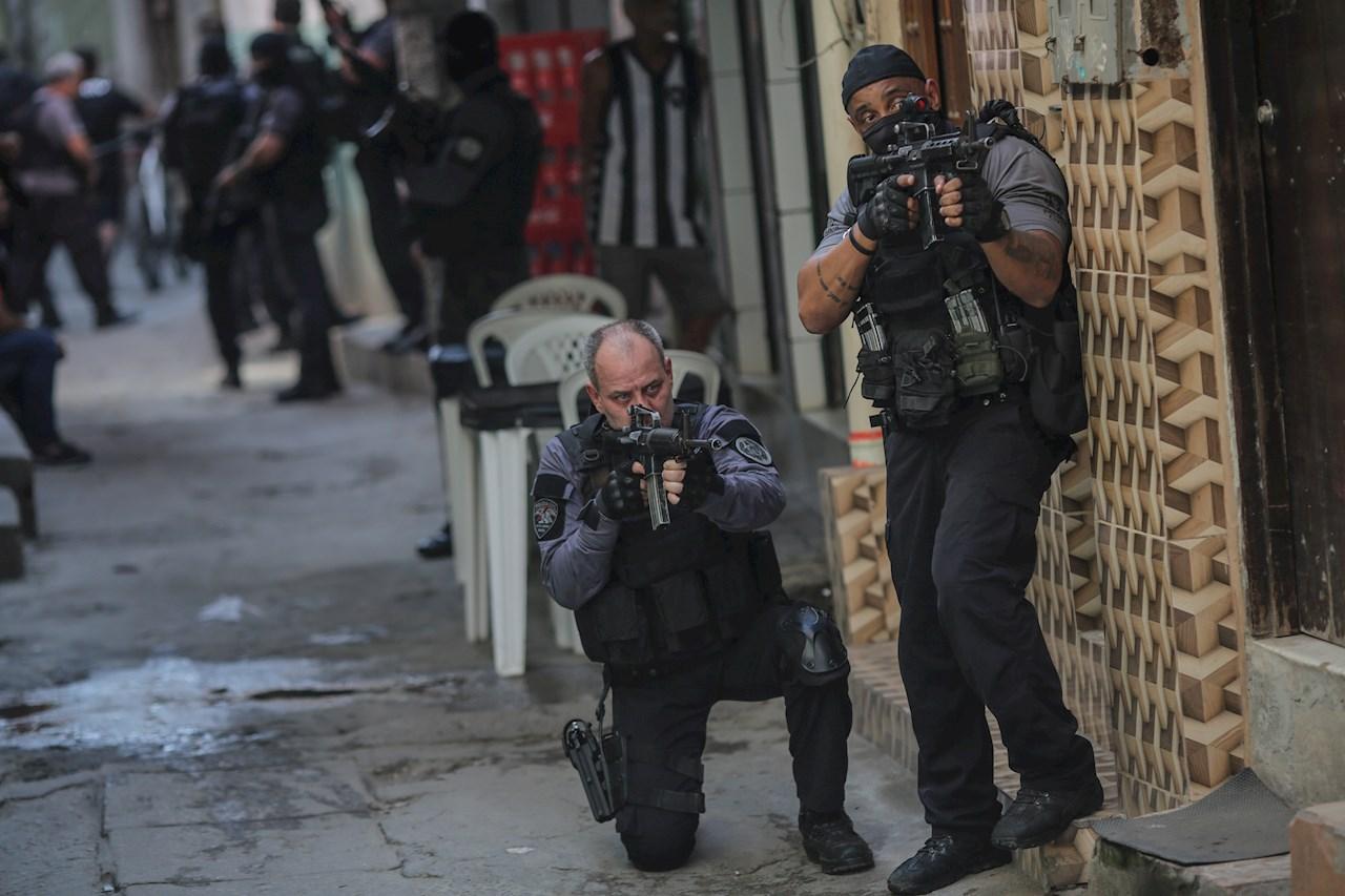 Operación policial causa la mayor masacre en la historia de Río de Janeiro
