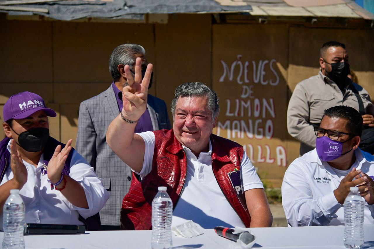 Se respetarán todas las inversiones en Baja California: Jorge Hank Rhon