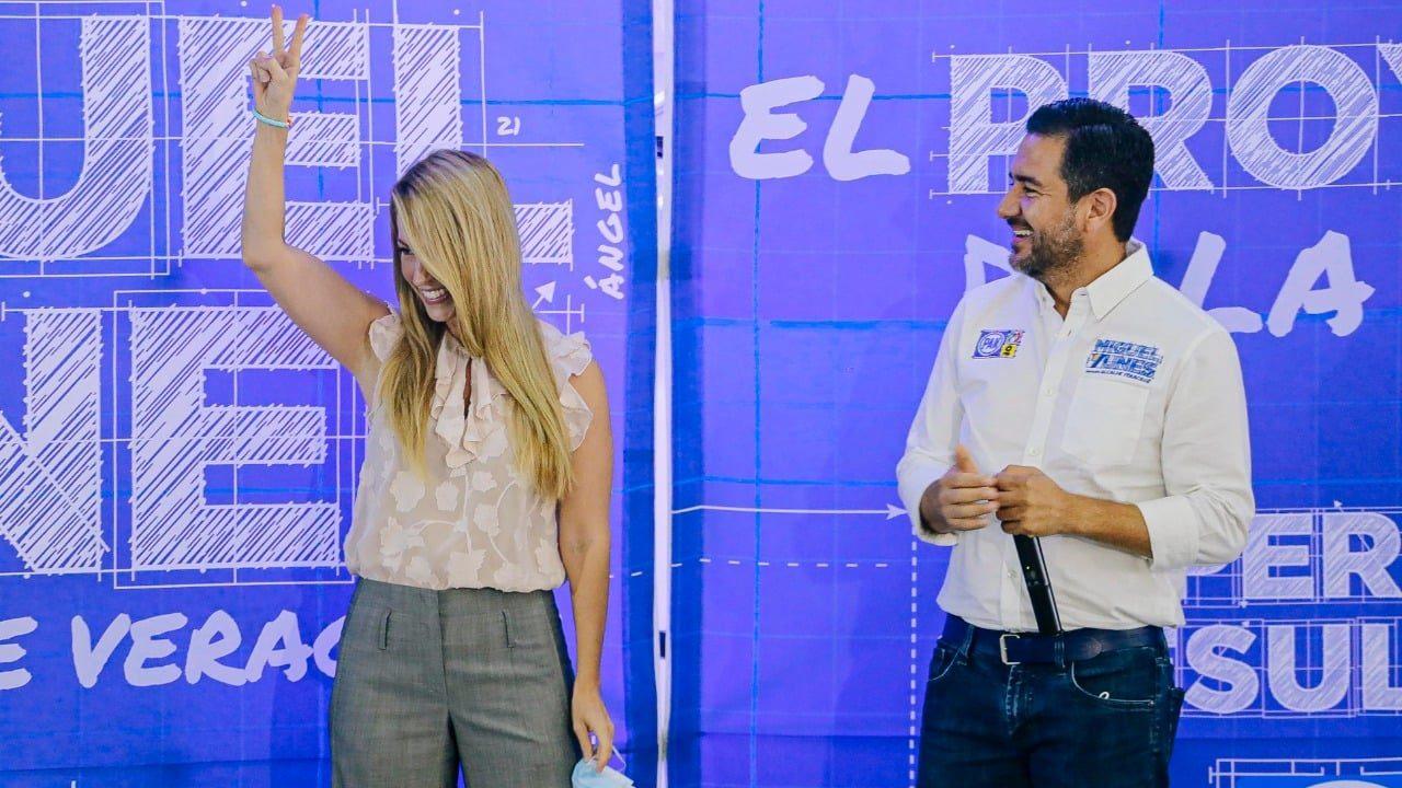 Yunes Márquez será sustituido por su esposa en contienda por presidencia municipal de Veracruz