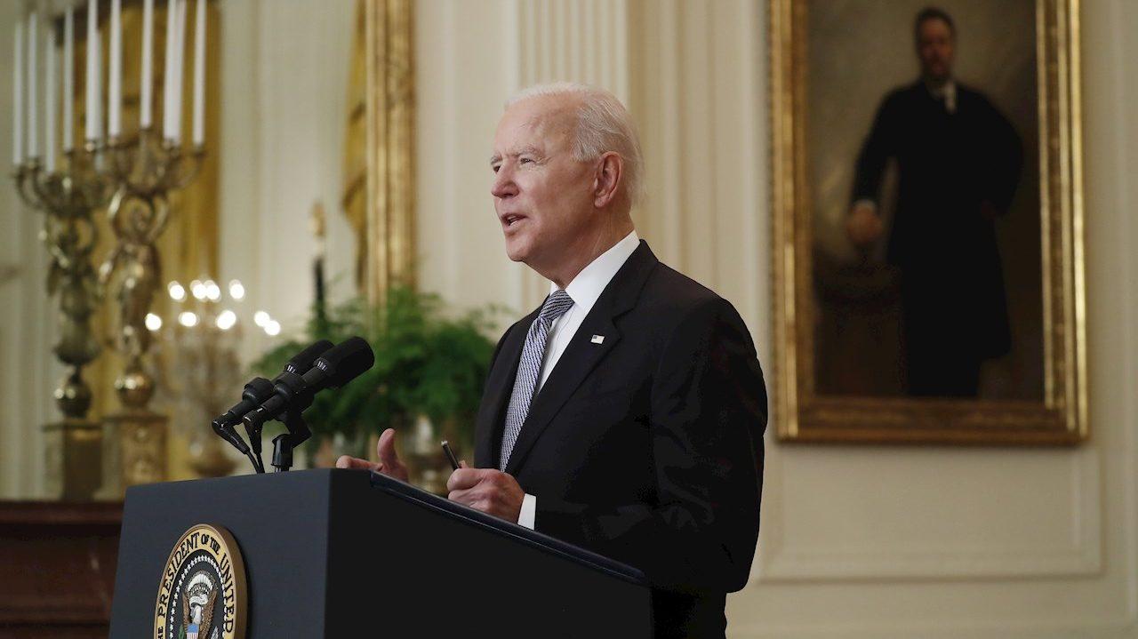 Los ingresos de Biden cayeron en 2020, durante la campaña electoral