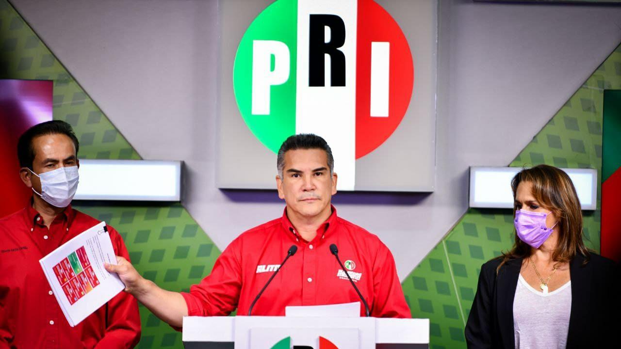 Presidente del PRI pide a AMLO no meterse en la elección de Nuevo León