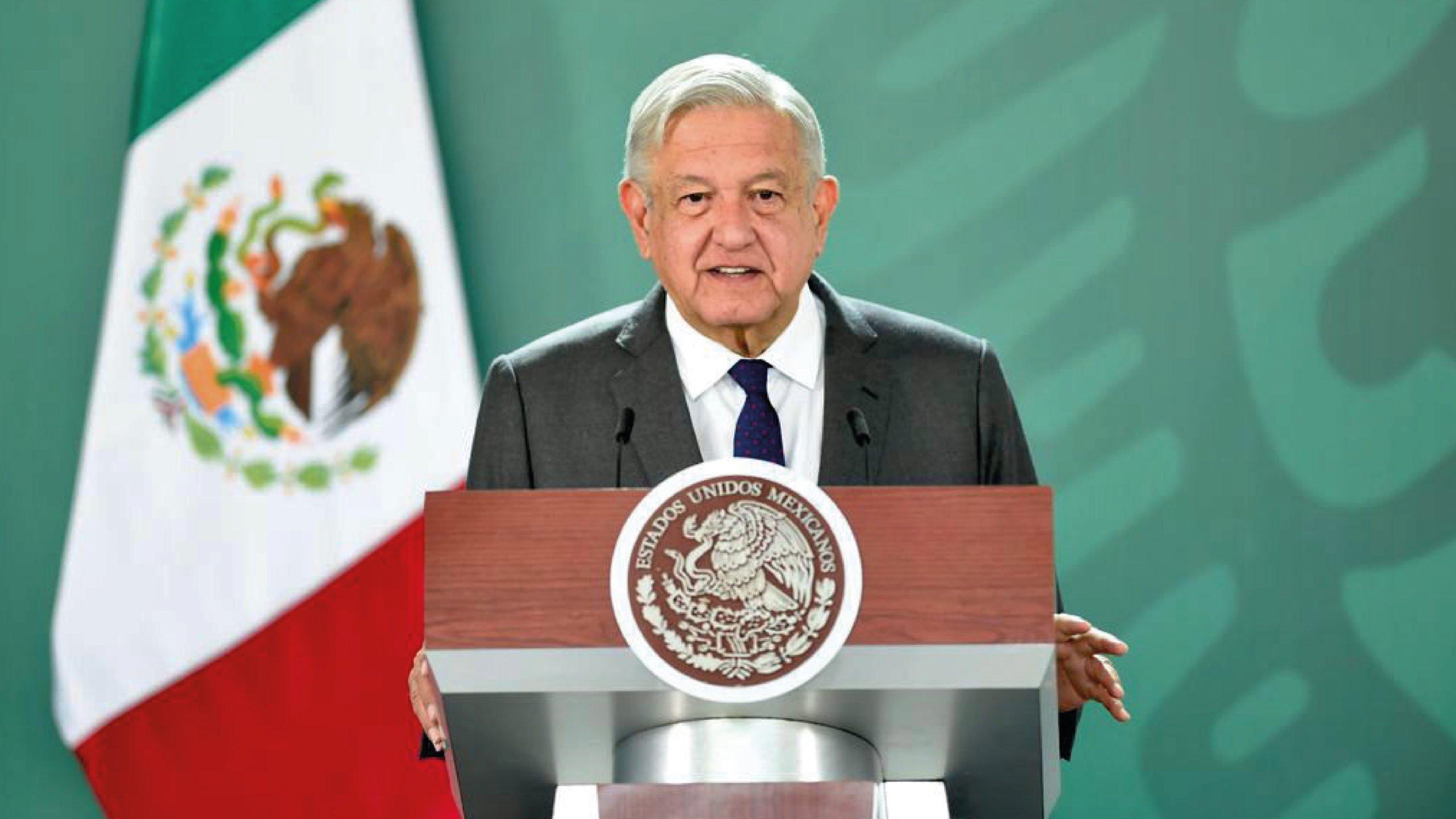 AMLO estima que en octubre todos los mexicanos estarán vacunados contra Covid-19