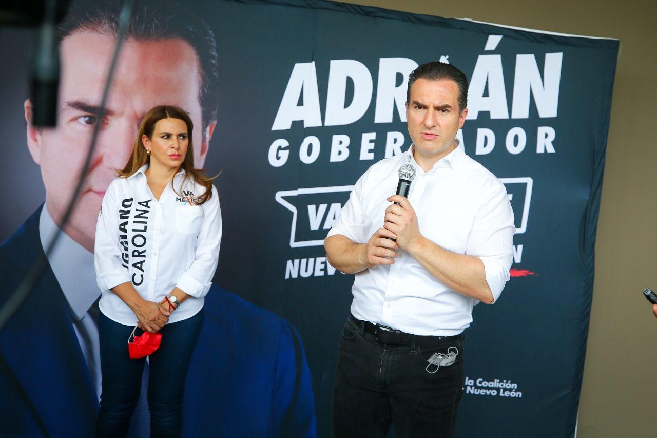 AMLO mandó a la FGR para descarrilarme y meterme a la cárcel: Adrián de la Garza