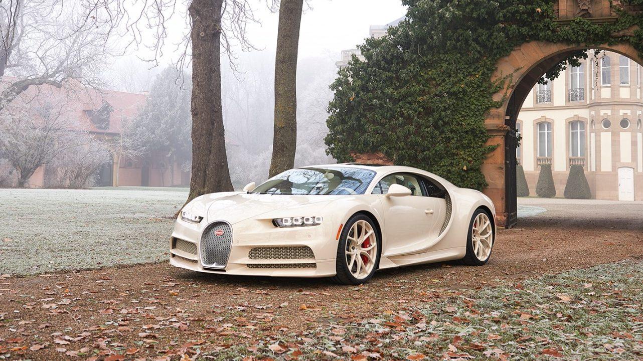 Bugatti Chiron auto hiperdeportivo