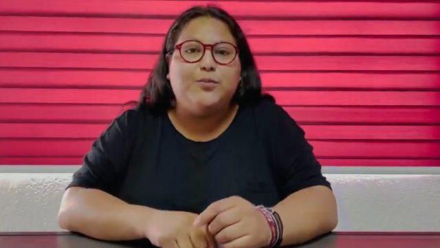 Citlali Hernández, secretaria general de Morena. Foto: Especial