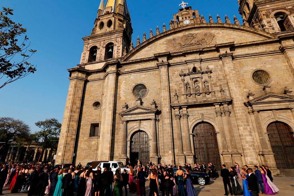 Boda Canelo catedral de Guadalajara