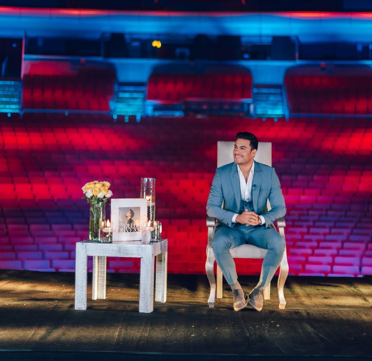 Carlos Rivera lanza nuevo álbum a duetos rindiendo homenaje a grandes estrellas