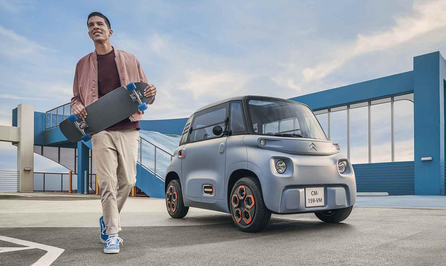 El Citroen Ami eléctrico llega a EU: cuesta 6,000 dólares y vas a poder alquilarlo