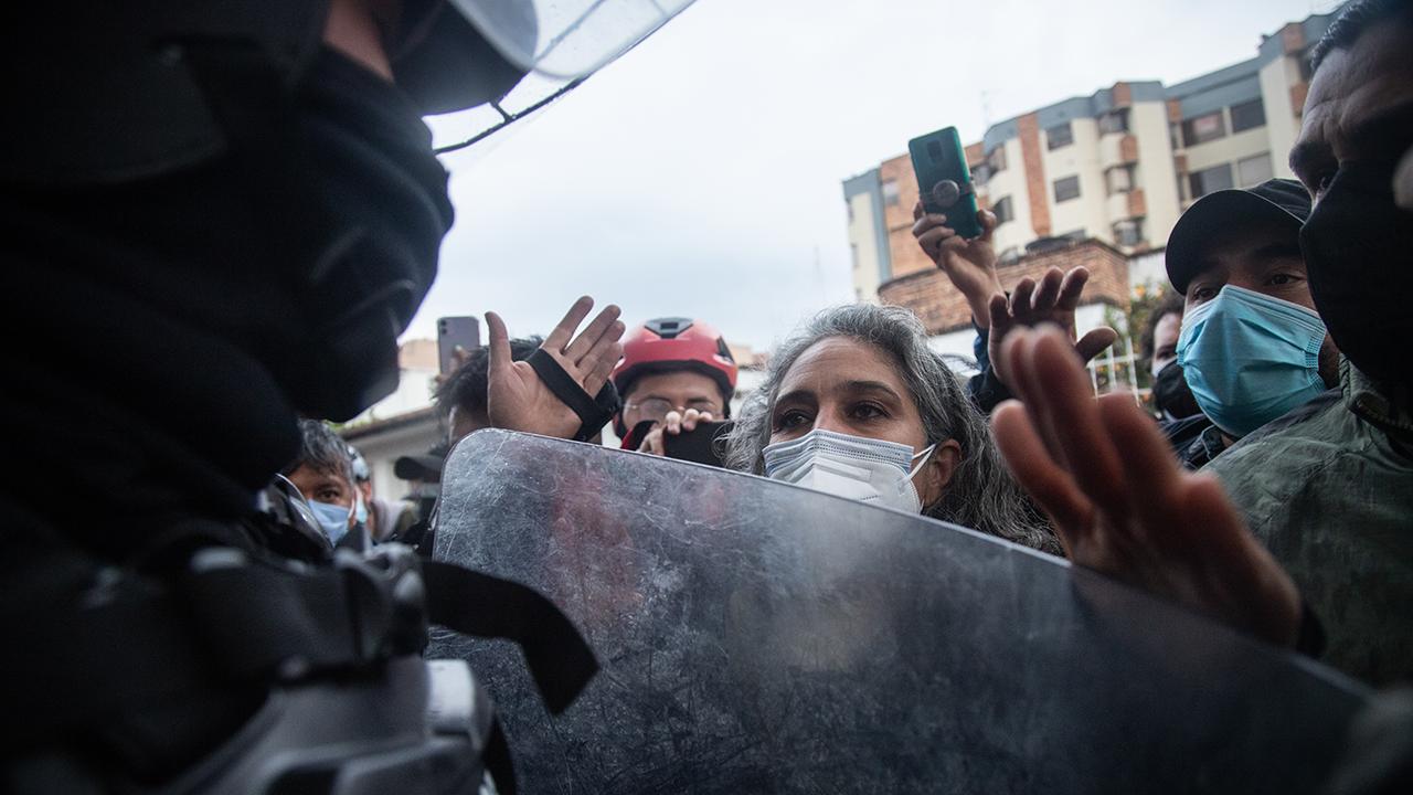 Protestas en Colombia