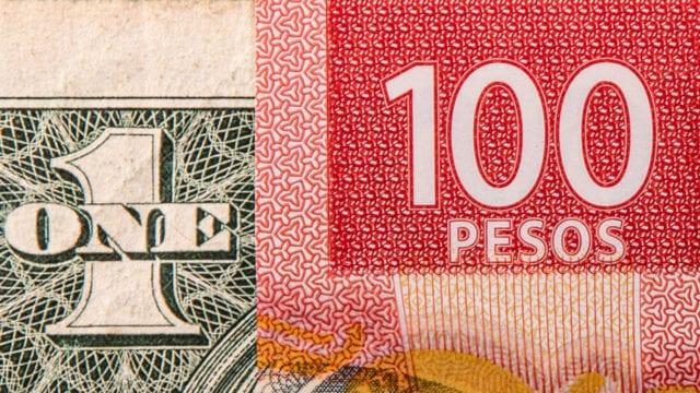peso bolsa dolar bolsa de valores