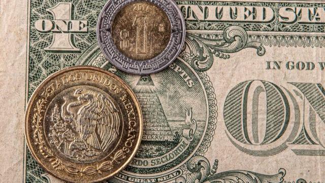 Peso dólar bolsa