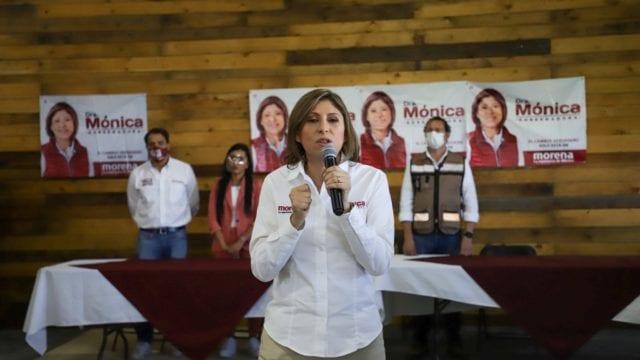 Mónica Rangel, candidata de Morena. Foto: Facebook