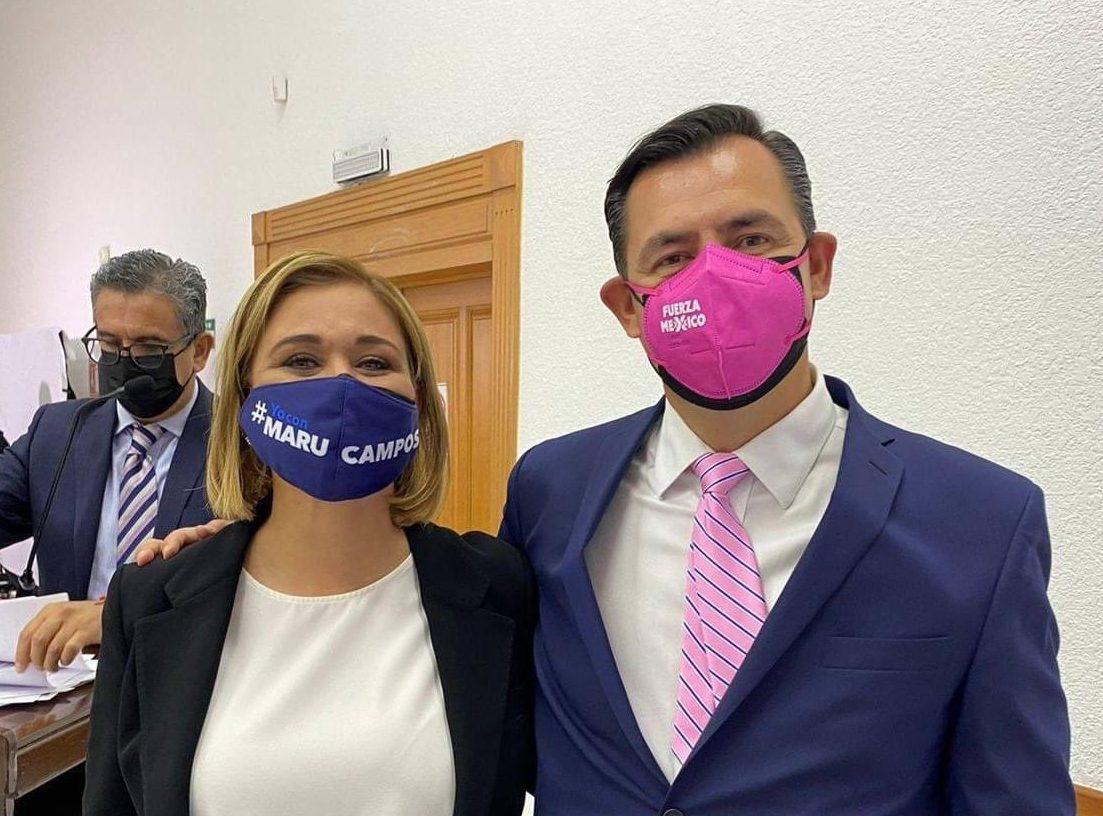 Declina candidato de Fuerza por México por Maru Campos a Chihuahua