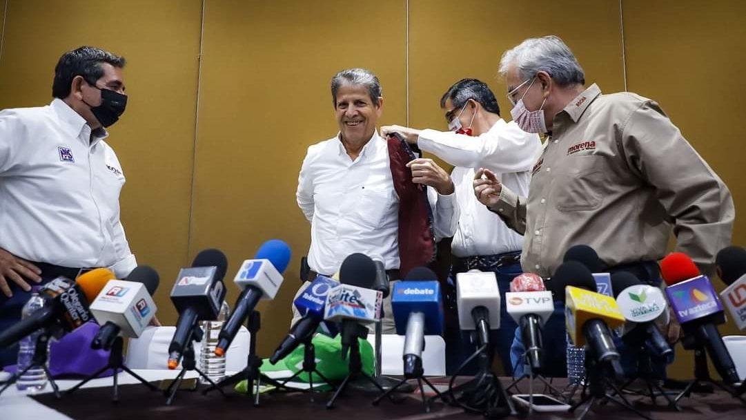 Candidato del PVEM al gobierno de Sinaloa declina por Morena; partido desconoce acuerdo