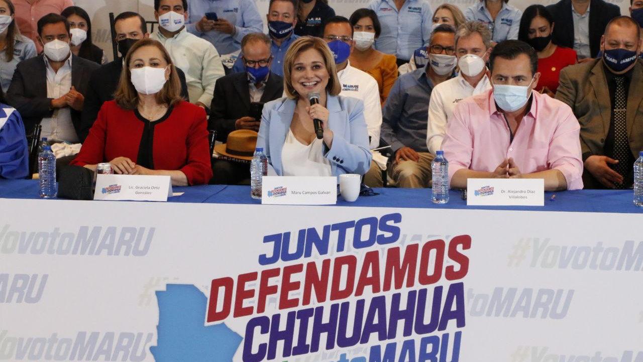 Morena no tiene espacio en Chihuahua: Graciela Ortiz